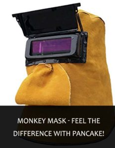 monkey mask - feel the difference with pancake