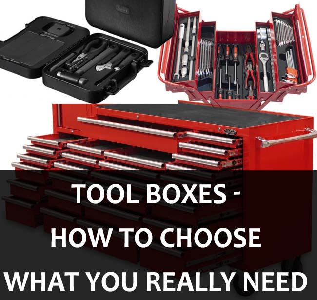 Tool box - how to choose what you really need